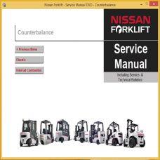 nissan forklift service manual dvd 2019